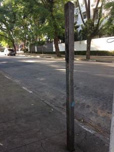 Alte Bushaltestelle