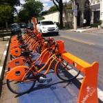 Itaú BikeSampa Fahrradstation