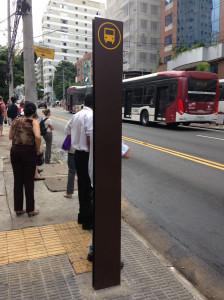 Neue Bushaltestelle klein
